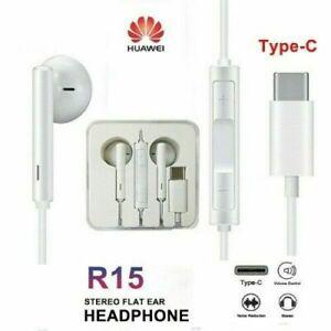 USB-C Type-c Earphone In-Ear Headphone Headset Bass&HIFI Stereo Earbuds with Mic