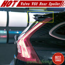 Real Carbon For VOLVO V60 5DR Wagon Roof Lip Spoiler 2017 T4 T6