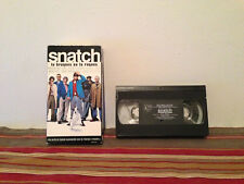 Snatch (VHS, 2001) Tape & sleeve FRENCH