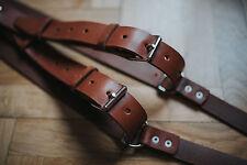 Multi-Camera dual leather strap harness shoulder fast belt NEW Model