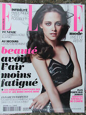 ELLE n°3488 (2 nov 2012) Kristen Stewart - Mode : Pretty army - E. Badinter