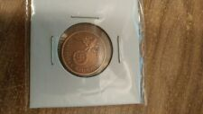 Nazi German Bronze 2 PFG Coin VG+CONDITION Own A Piece Of History