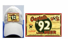 OERTELS  92 BEER LABEL BALL CAP