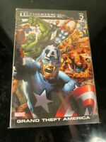 The Ultimates 2, Vol. 2: Grand Theft America (v. 2) by Mark Millar BAGGED BOARDE