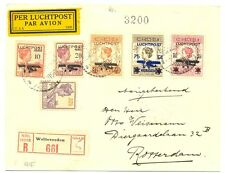 NED INDIE DUTCH INDIES  1929-12-31  REG.  CV   WELTEVREDEN-ROTTERDAM  VF