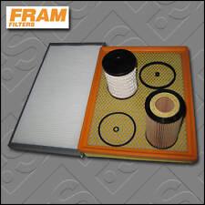 SERVICE KIT SAAB 9-3 2.2 TID FRAM OIL AIR FUEL CABIN FILTERS (2002-2009)