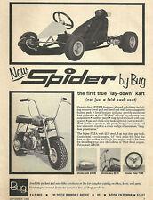 Vintage 1960's Bug Spider Go-Kart & Flea Mini-Bike Ad