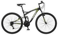 Mongoose 26 inches Men's Full Suspension Status 2.2 Bike Bicycle - Black