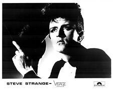 "Steve Strange / Visage 10"" x 8"" Photograph no 10"