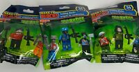 Make It Blocks ZOMBIES 3 packs (Each Pack Has 2 Zombies&1 Fighter) Mini Figures