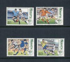 Nauru  #552-55  (2006 World Cup soccer set)  VFMNH CV $15.00