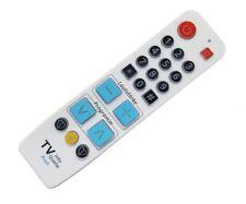Senioren Fernbedienung TV-Info-Quelle Profi / weiß / mit Tastenbeleuchtung