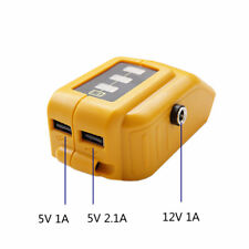 Dewalt DCB091 Li-on Battery USB Charging Converter 12V DC Output Heated Jackets