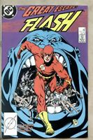 Flash #11-1988 nm- 9.2 Chunk Steve Lightle Mike Baron DC Comics Wally West