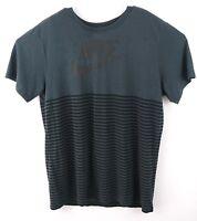 NIke Men's The Nike Tee Dri Fit T Shirt Size L Large Athletic Cut  Spellout