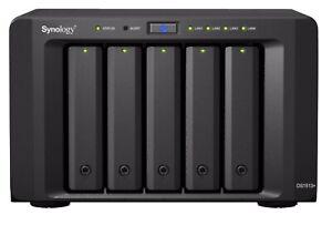 "Synology DiskStation DS1513+ Profi 5-Bay NAS für 2,5""/3,5"" HDD/SSD DSM 7.0"