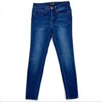 Fashion Nova Womens Jeans Size 5 Juniors Stretch Dark Wash Denim Skinny Mid Rise