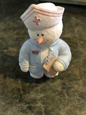 Sarah's Attic Snowonder Nurse Frontline Gift Figurine Healthcare