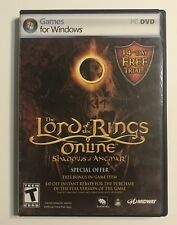 o1020o Lord of the Rings Online : Shadows of Angmar (PC DVD-ROM, 2007) Windows