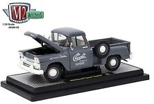 1:24 M2 Machines AUTO-TRUCKS R55 = GREY 1958 Chevrolet APACHE Stepside *NIB*
