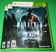 Lot of 3 Murdered: Soul Suspect Microsoft Xbox 360 *Factory Sealed! *Free Ship!