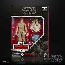 """Star Wars Black Series 6"""" Deluxe Dagobah Luke Skywalker & Yoda Set"""