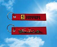Ferrari Formula one F1 keychain keyring key tag