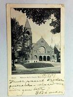 Vintage Postcard 1907 Memorial M.E. Church White Plains NY New York