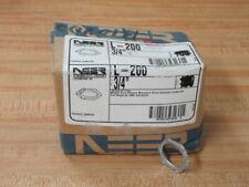 """Neer L-200 Conduit Locknut L200 3/4"""" (Pack of 23)"""