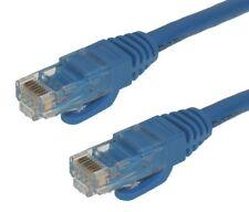 125ft Blue Cat6 Snagless RJ45 Ethernet Patch Cable 24AWG 550MHZ Stranded UTP