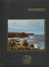 Galapagos Islands by Palacio 1983 Leatherbound