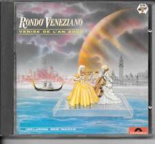 CD ALBUM 12 TITRES--RONDO VENEZIANO--VENISE DE L'AN 2000--1983