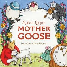 Sylvia Long's Mother Goose: Four Classic Board Books  LikeNew
