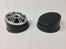 """New listing Universal Non-Flanged Round 5.25"""" Angled Speaker Pods With Bottoms"""