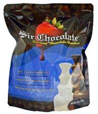 Sir Chocolate White Fountain Fondue 4lb For Home Fountains! Warm -n- Serve