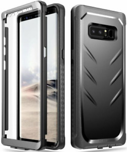 Samsung Galaxy Note 8 Cover - Shockproof Rugged Case Black