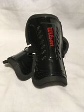 Wilson Youth Black Wsp2000 PeeWee soccer shin guards