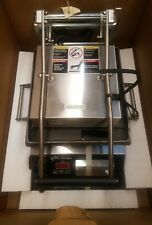 "Star Gr10It 10"" Commercial Sandwich Panini Grill (Smooth) 240V New in Box!"