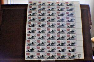 FULL SHEET US STAMP $.04 CENT SCOTT # 1181 The Wilderness
