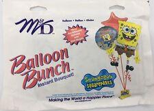 "SpongeBob Squarepants Mylar Balloon Bunch ~ 3 Pre Ribboned Bouquet M&D 18"" ~ NEW"