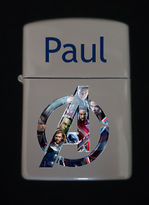 Personalised Marvel lighter