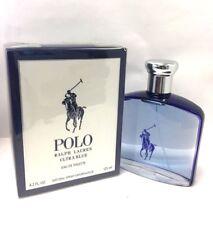 POLO ULTRA BLUE BY RALPH LAUREN 4.2 oz EDT , MEN COLOGNE , NIB.