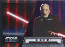 Star Wars Evolution 2016 Purple Parallel Card #98 Count Dooku - Sith Apprentice