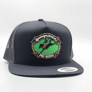 Copenhagen Skoal Trucker Hat, Vintage Rodeo Tobacco Patch Hat, Hi-Crown Snapback