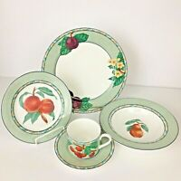Victoria & Beale L'Amour Place Setting Dinner Plate Soup Bowl Salad Cup Saucer