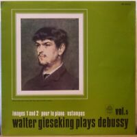 WALTER GIESEKING Plays Debussy LP Images 1 and 2 / Pour le Piano /Estampes JAPAN