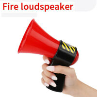 Pretend Play Musical Bullhorn Fun Fire Loudspeaker Sing Party Kids Costume Toy H