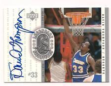 2000 Legendary Signatures HOF Auto David Thompson Denver Nuggets