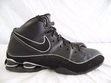 NIKE SHOX ELITE FLIGHT - Mens 11.5 Black MID HEIGHT Basketball Court Shoes