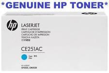Genuine HP Ce250xc Cyan Toner Cartridge Suits Cp3525 Cm3530